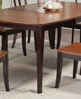 "DINING 78"" SANTA BARBARA LEG TABLE CHESTNUT & ESPRESSO  FINISH"