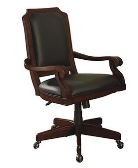 OFFICE CLASSIC CHERRY OFFICE CHAIR WITH ARMS