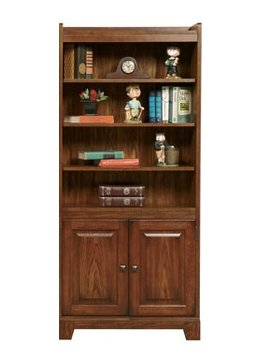 """BOOKCASE <h2>ZAHARA 72"""" BOOKCASE WITH DOORS</h2>"""