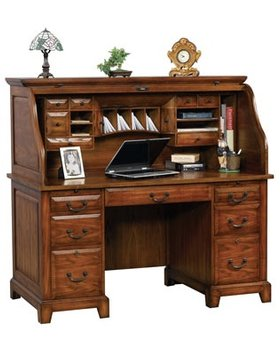 "OFFICE ZAHARA 57"" ROLLTOP DESK"