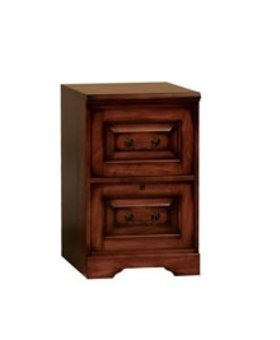 OFFICE COUNTRY CHERRY 2 DRAWER FILE CABINET