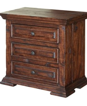 BEDROOM TERRA 3 DRAWER NIGHTSTAND