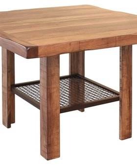 DINING HABILLO WOODEN COUNTER HEIGHT TABLE