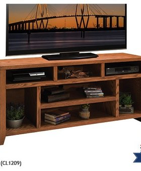 "ENTERTAINMENT CITY LOFT 66"" TV CONSOLE"