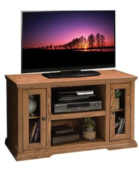 "ENTERTAINMENT 44"" TV CONSOLE GOLDEN OAK FINISH"