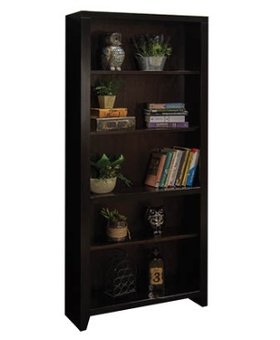 "OFFICE 72"" URBAN LOFT BOOKCASE MOCHA FINISH"