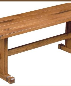 DINING SEDONA NOOK SIDE BENCH