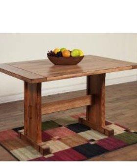 DINING SEDONA NOOK TABLE RUSTIC OAK