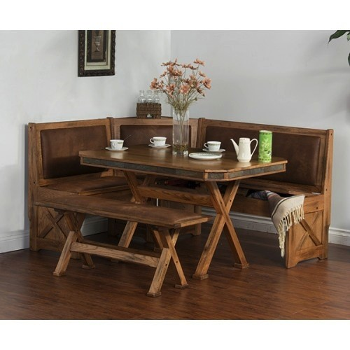 DINING SEDONA BREAKFAST NOOK WITH SIDE BENCH