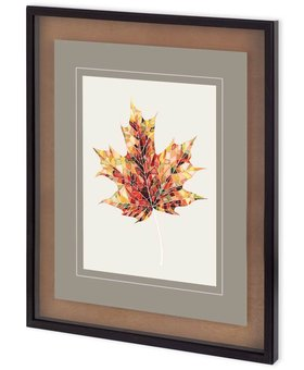 ACCESSORIES FALL MOSAIC LEAF III WALL ART