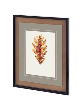 ACCESSORIES FALL MOSAIC LEAF I  WALL ART