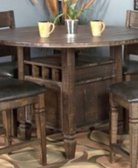 "DINING HOMESTEAD 54"" ROUND COUNTER HEIGHT TABLE"