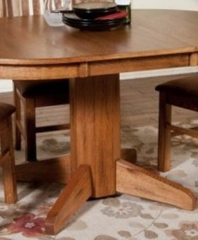 TABLE SEDONA OVAL EXTENSION TABLE