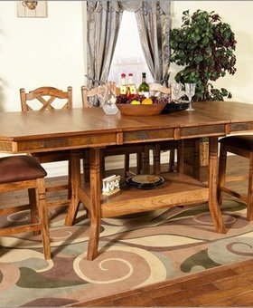 DINING <h2>SEDONA BUTTERFLY LEAF DINING SET</h2>