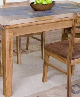 TABLE SEDONA SLATE TOP TABLE
