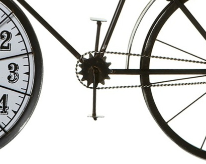 ACCESSORIES BICYCLE WHEEL WALL CLOCK