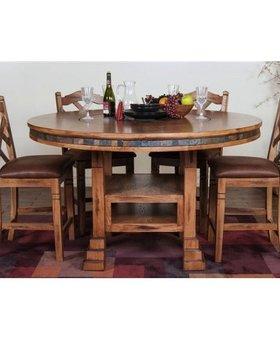 "TABLE SEDONA 60"" TABLE WITH LAZY SUSAN"