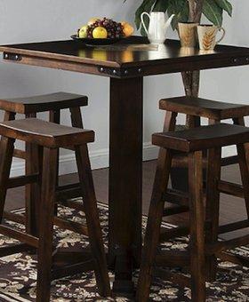 DINING SANTA FE SLATE TOP PUB TABLE