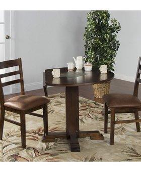 DINING <h2>SANTA FE DROP LEAF TABLE DINETTE SET</h2>