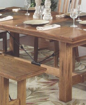 DINING SEDONA DINING TABLE WITH BUTTERFLY LEAF
