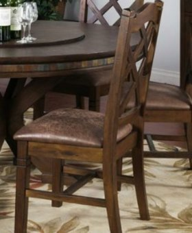 DINING <h2>SAVANNAH DOUBLE CROSSBACK CUSHIONED CHAIR</h2>