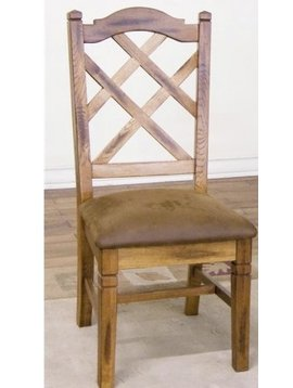 DINING SEDONA DOUBLE CROSSBACK CUSHIONED CHAIR