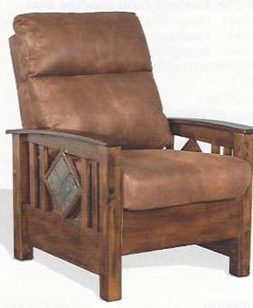 UPHOLSTERED SANTA FE STATIONARY CHAIR