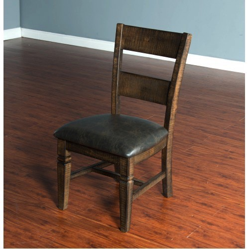 DINING HOMESTEAD LADDERBACK DINING CHAIR WITH CUSHION SEAT