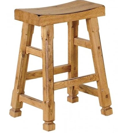 "BARSTOOL SEDONA 24"" SADDLE SEAT STOOL"