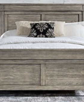 BEDROOM GLACIER POINT QUEEN PANEL BED SOLID RECLAIMED PINE