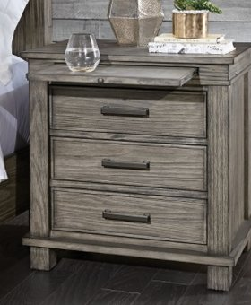 BEDROOM GLACIER POINT NIGHTSTAND SOLID RECLAIMED PINE