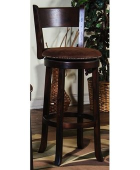 "BARSTOOL SANTA FE 24"" STOOL WITH BACK"
