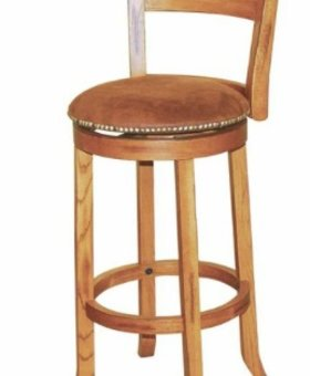 "BARSTOOL SEDONA 30"" SWIVEL STOOL WITH BACK"