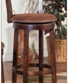"BARSTOOL SANTA FE 30"" SWIVEL STOOL WITH BACK"