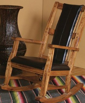 ENTERTAINMENT SEDONA OAK ROCKER