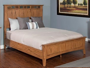 BEDROOM KING SEDONA BED WITH LOW PROFILE FOOTBOARD