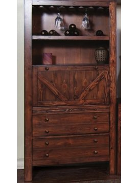 ACCENT RANCH HOUSE PIER WINE RACK