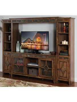 "ENTERTAINMENT COVENTRY ENTERTAINMENT WALL WITH 60"" CONSOLE"