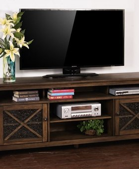 "ENTERTAINMENT SAVANNAH 74"" TV CONSOLE"