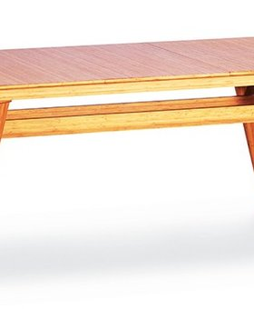 DINING CURRANT EXTENSION TABLE CARAMELIZED FINISH