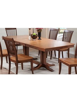"""DINING 96"""" DOUBLE PEDESTAL TABLE"""
