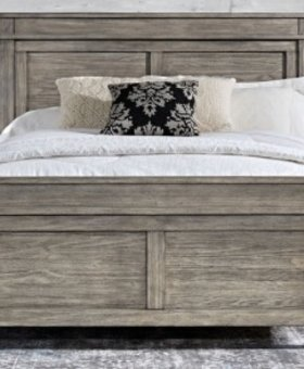 BEDROOM GLACIER POINT KING PANEL BED SOLID RECLAIMED PINE