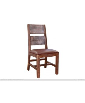 DINING ANTIQUE MULTICOLOR SIDE CHAIR