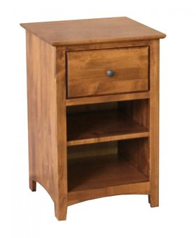 BEDROOM SHAKER 1 DRAWER NIGHTSTAND