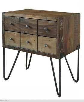 BEDROOM TAOS 2 DRAWER NIGHTSTAND