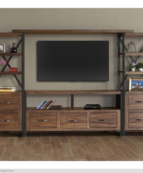 ENTERTAINMENT TAOS 4 PIECE WALL UNIT