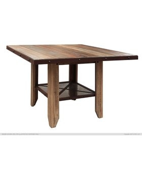 DINING MULTICOLOR COUNTER HEIGHT TABLE