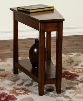 ACCENT SANTA FE CHAIR SIDE TABLE