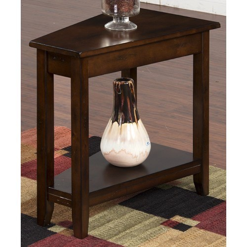 ACCENT SANTA FE CHAIR SIDE WEDGE TABLE