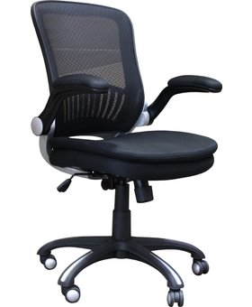 OFFICE OFFICE CHAIR BLACK MESH AND GAS LIFT